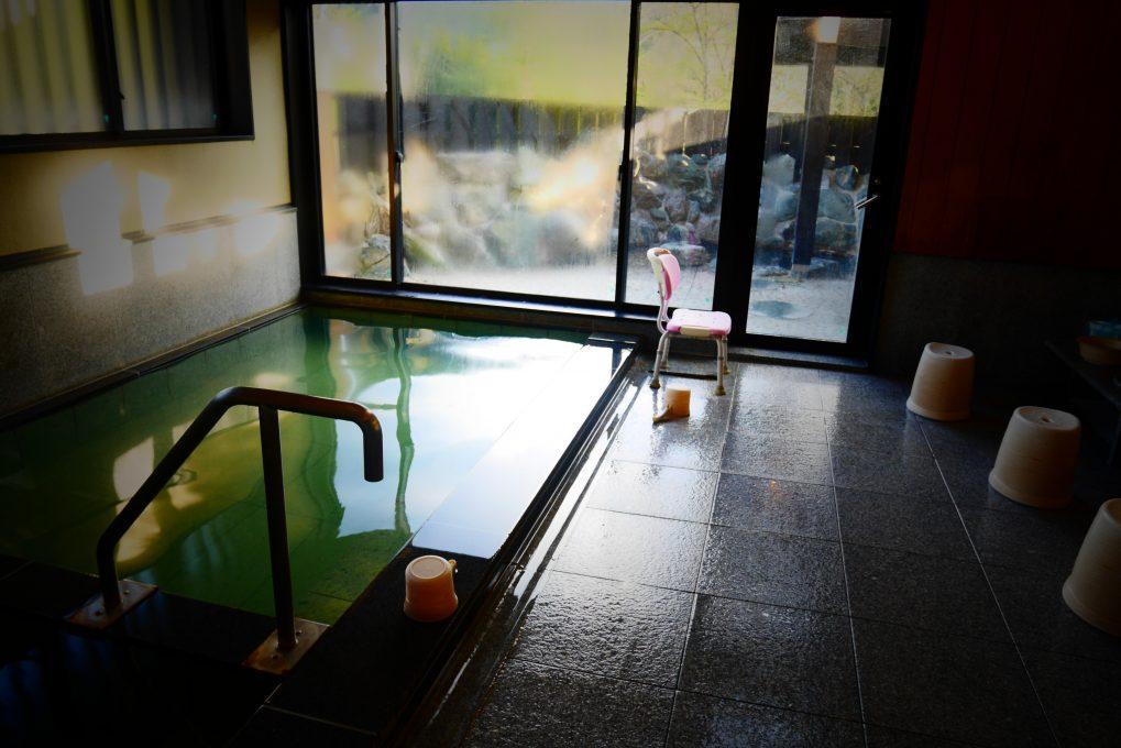 昭和温泉しらかば荘のお風呂2
