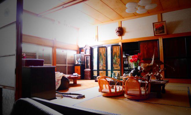 古民家の内装の現状