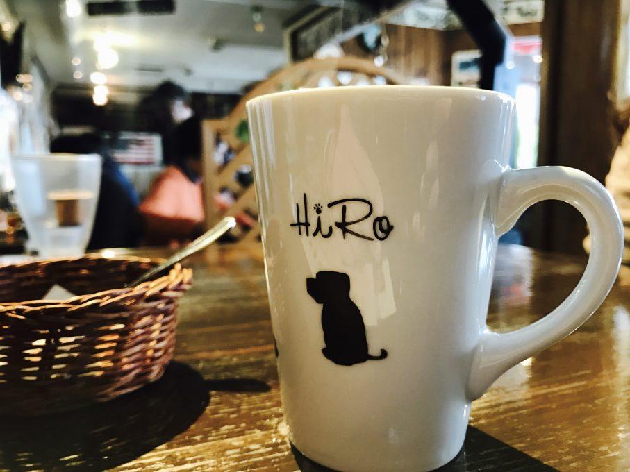HERO'S DINERのマグカップ