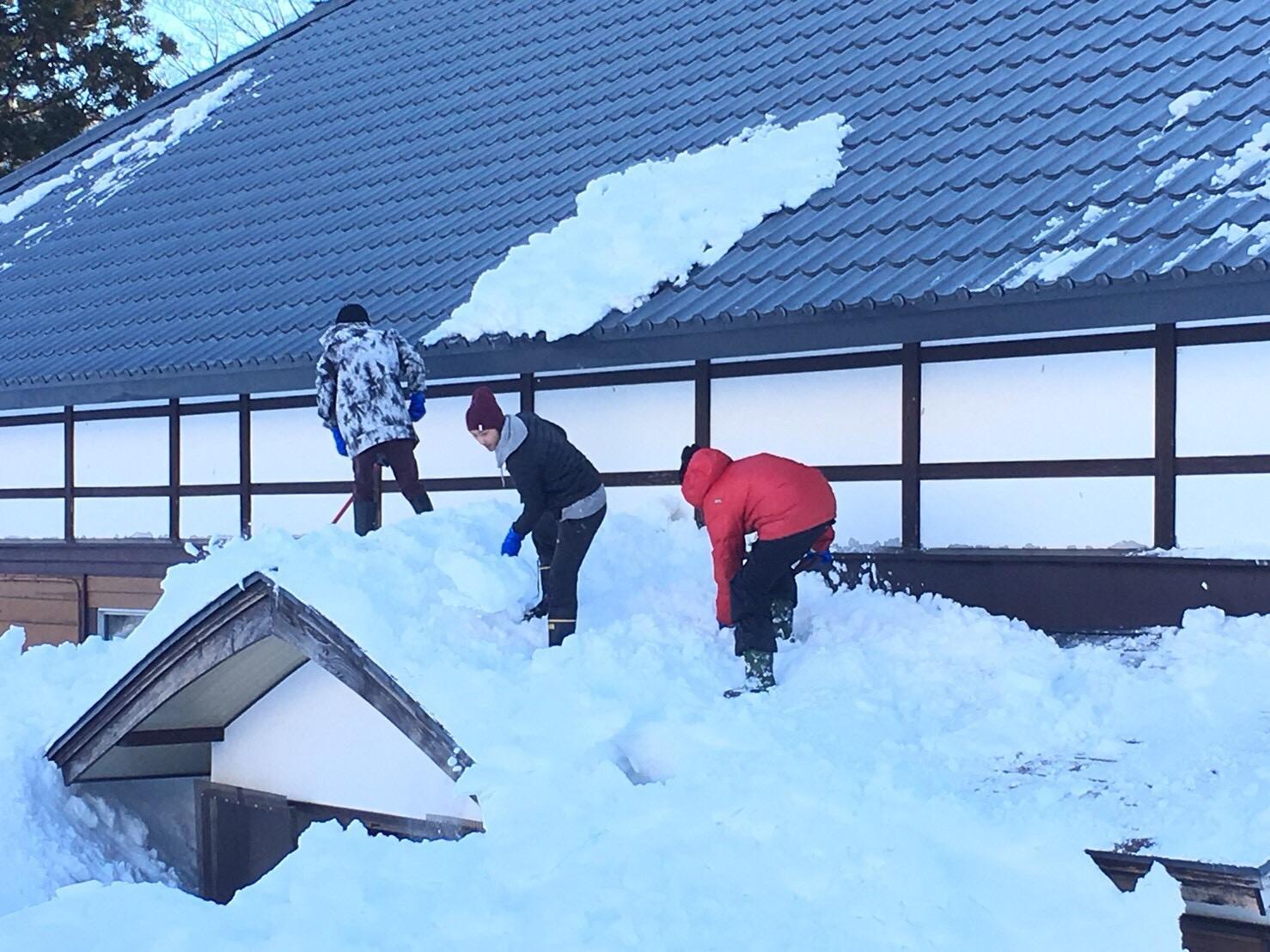 道具の使い方をしっかり学んで、効果的な除雪をしよう!