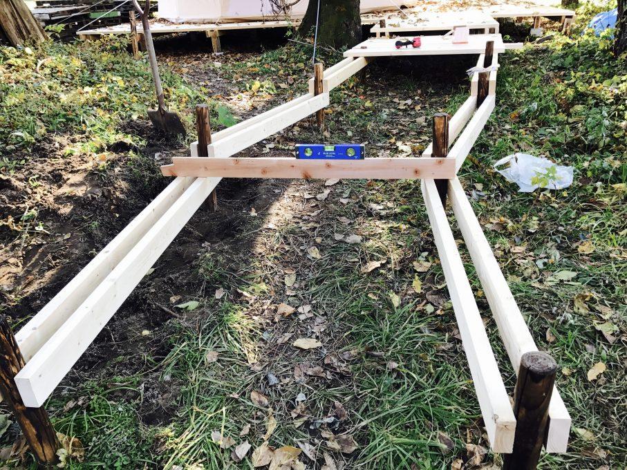木道の作り方