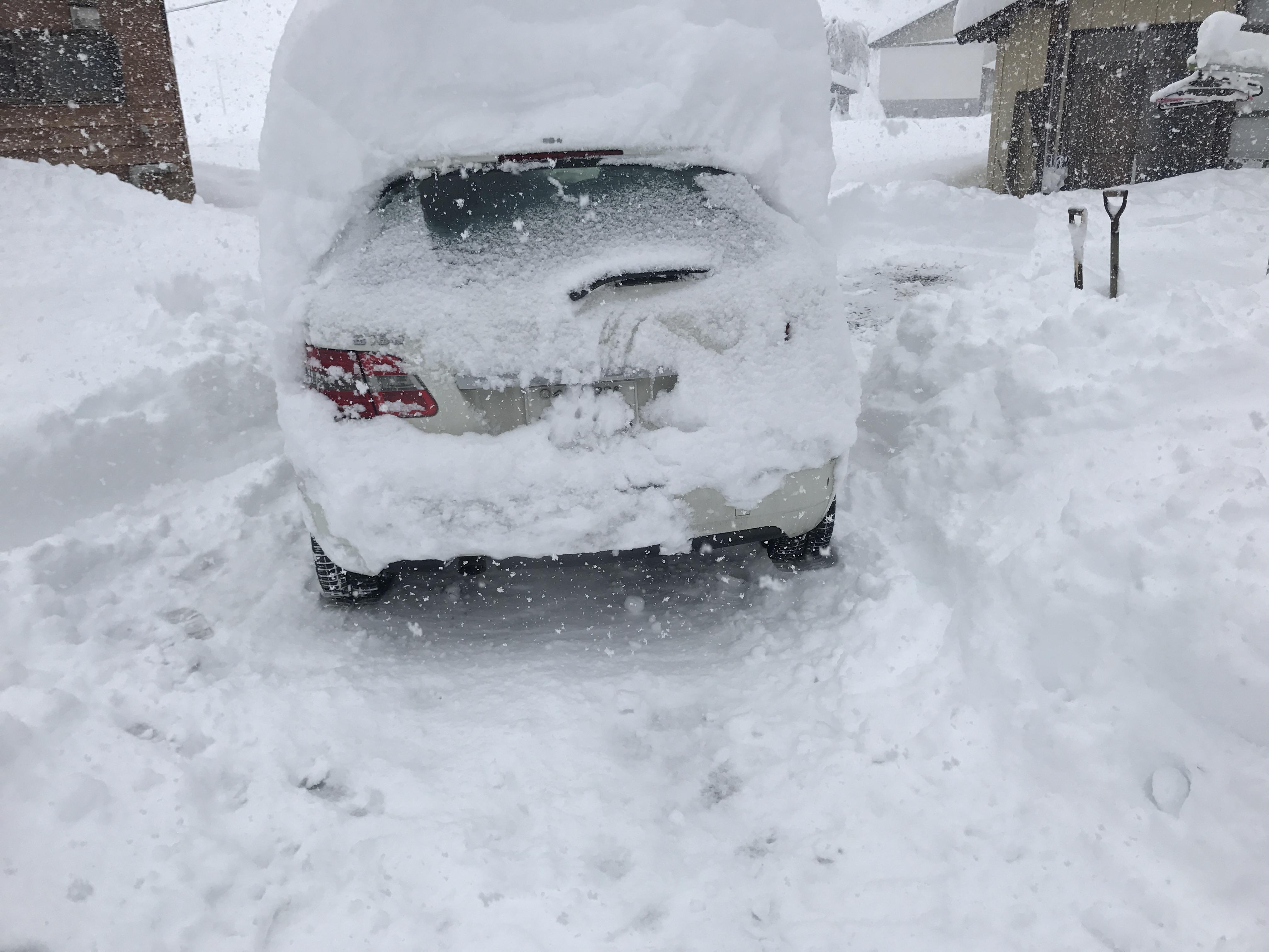 雪でスタック