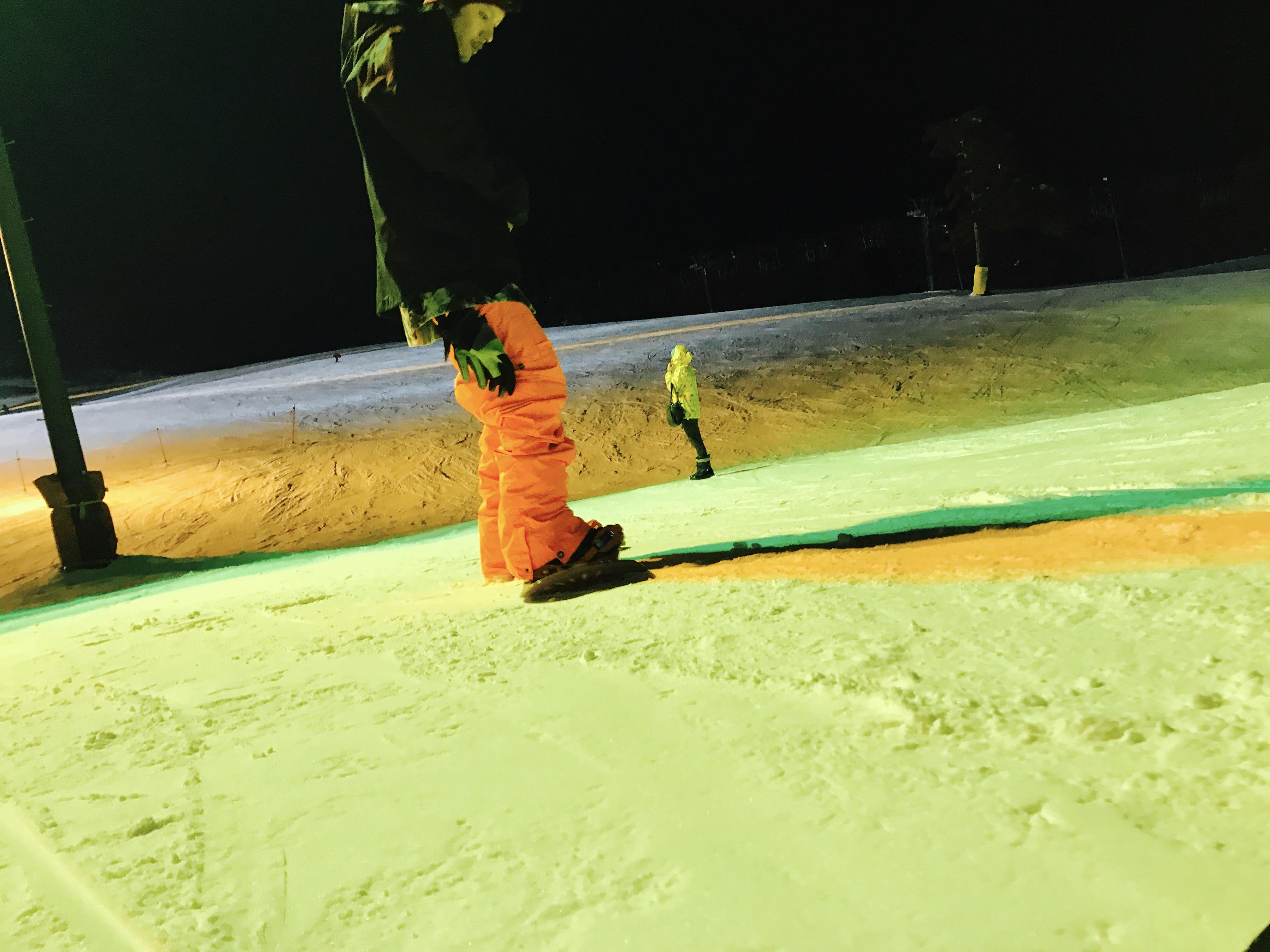 猪苗代スキー場のナイター