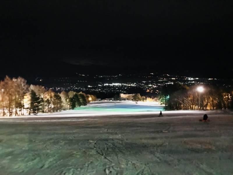 猪苗代スキー場の景色