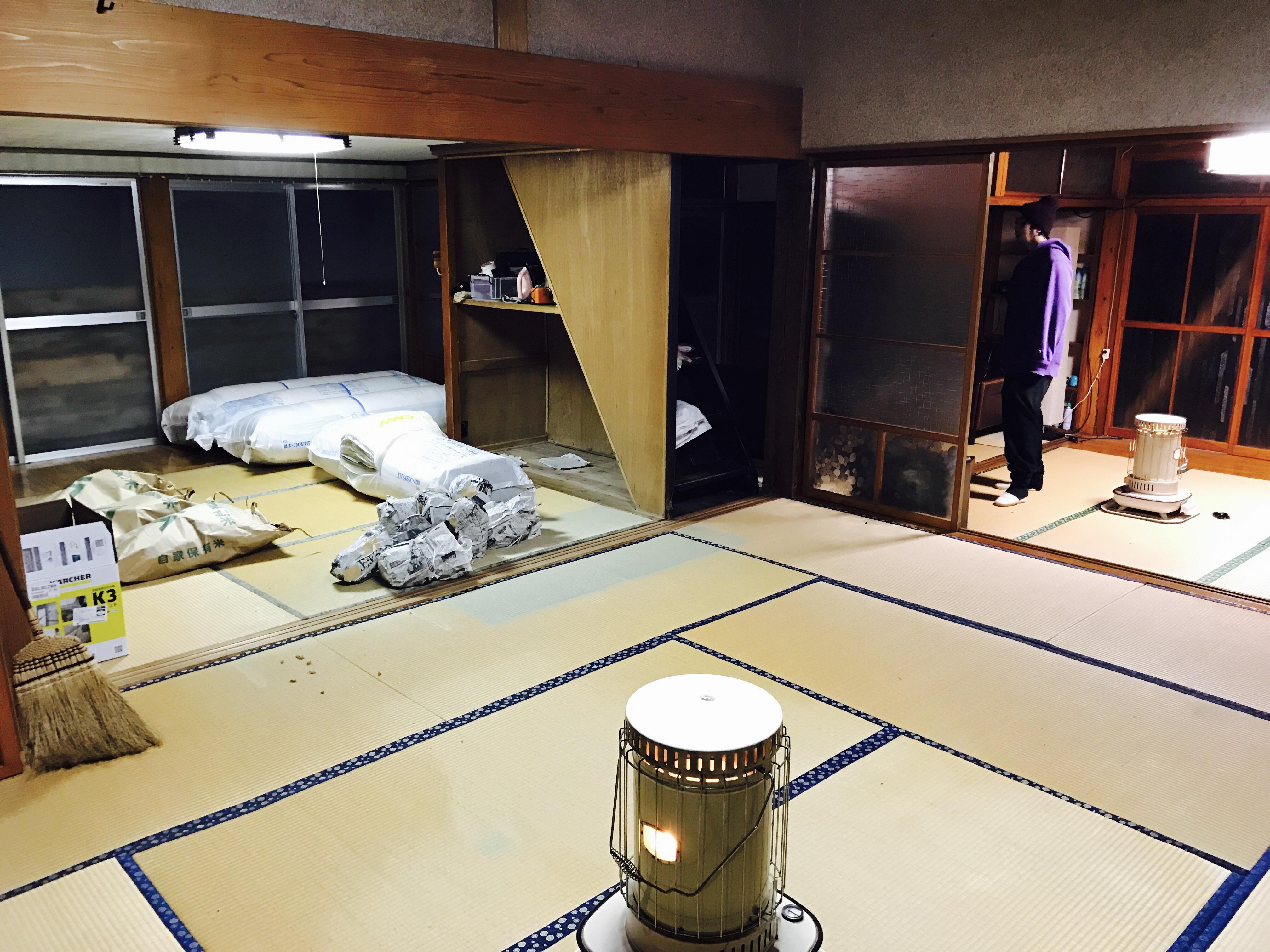 古民家の一室