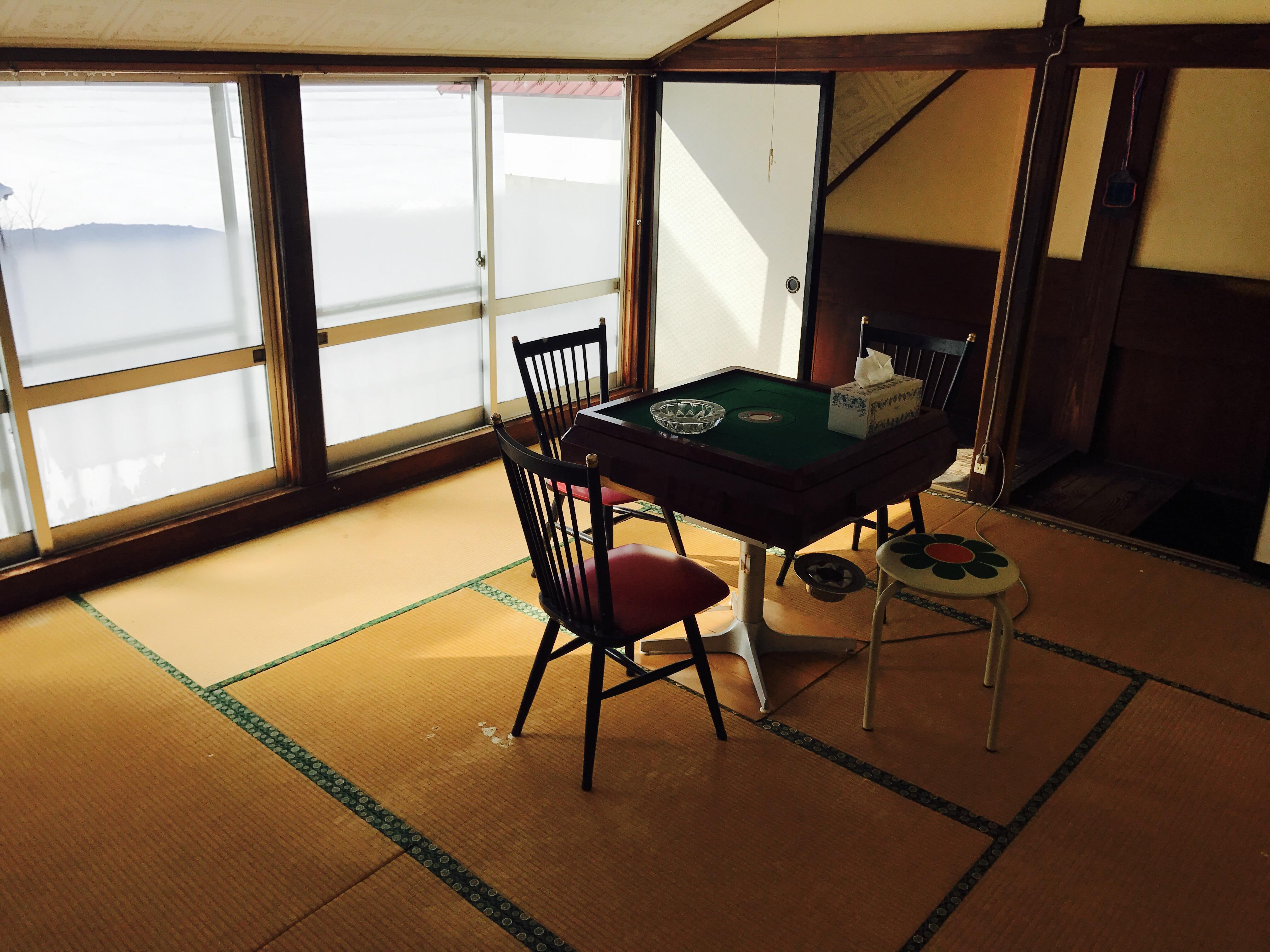 古民家の中2階全景