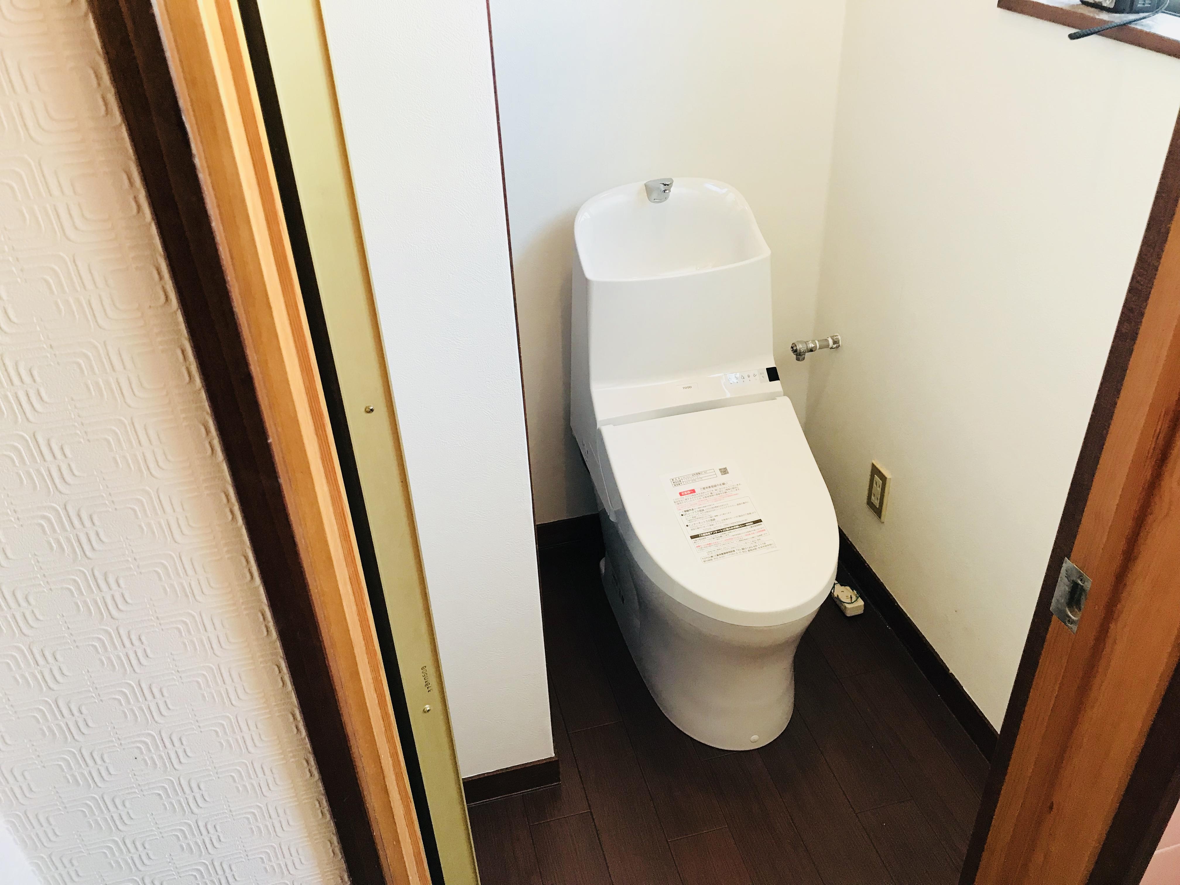 古民家のトイレのリフォーム