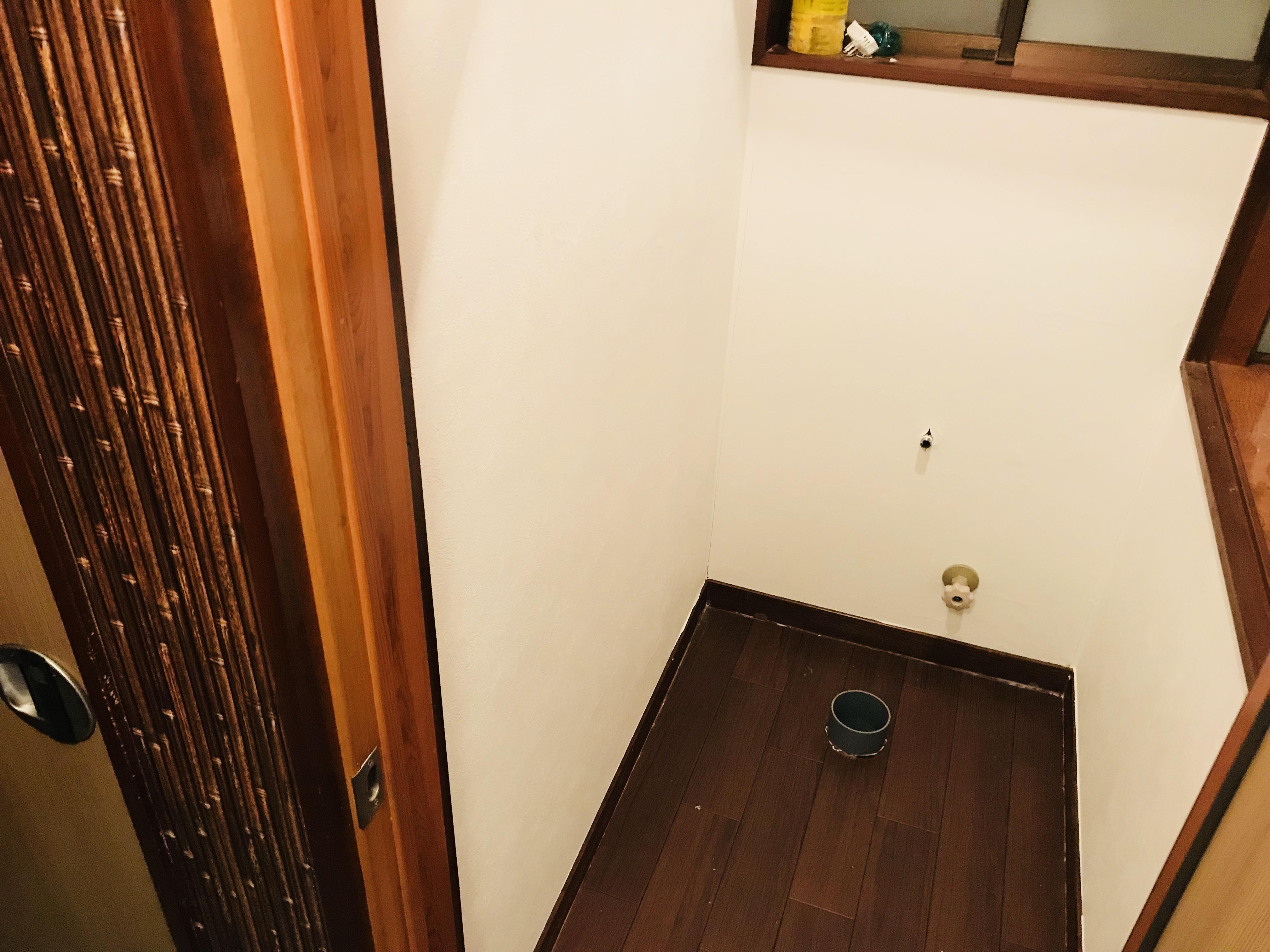 トイレのクッションフロアの張り替え