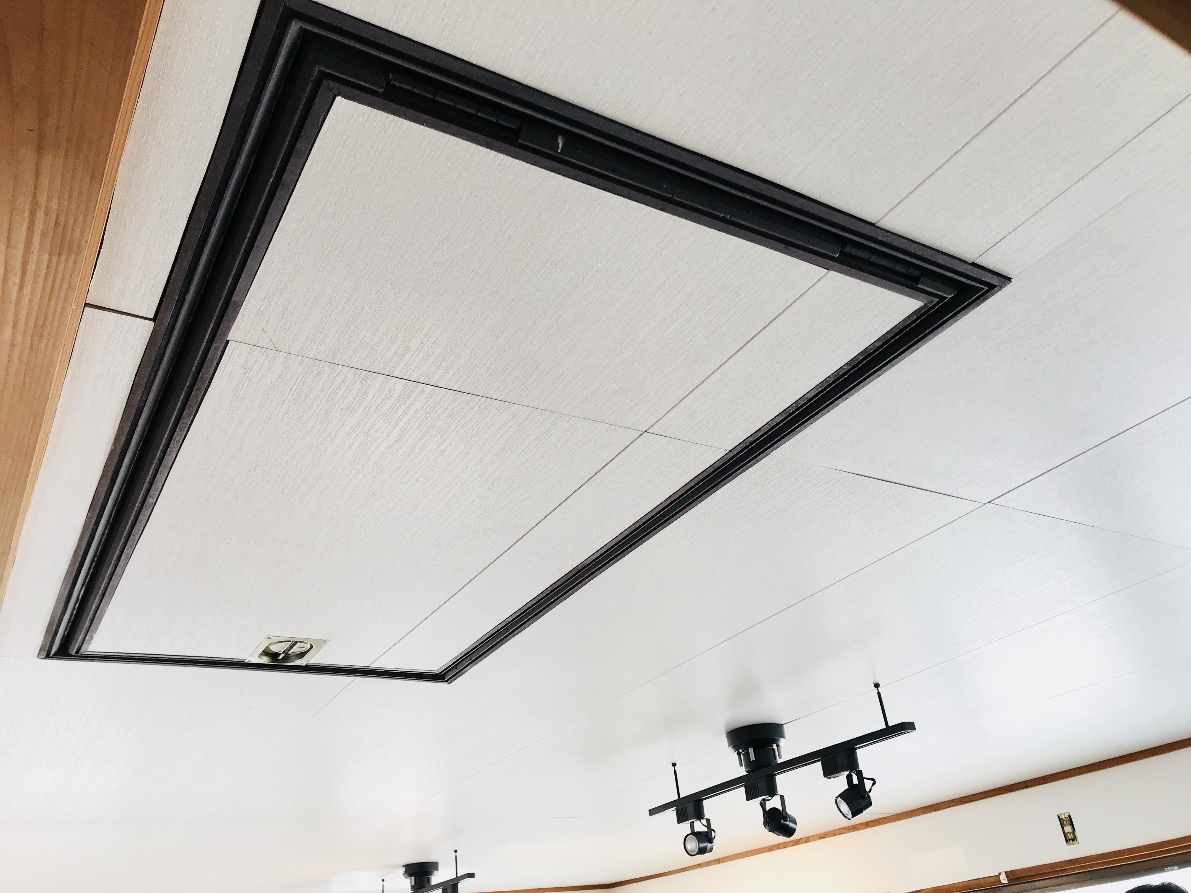 古民家の天井の模様替え