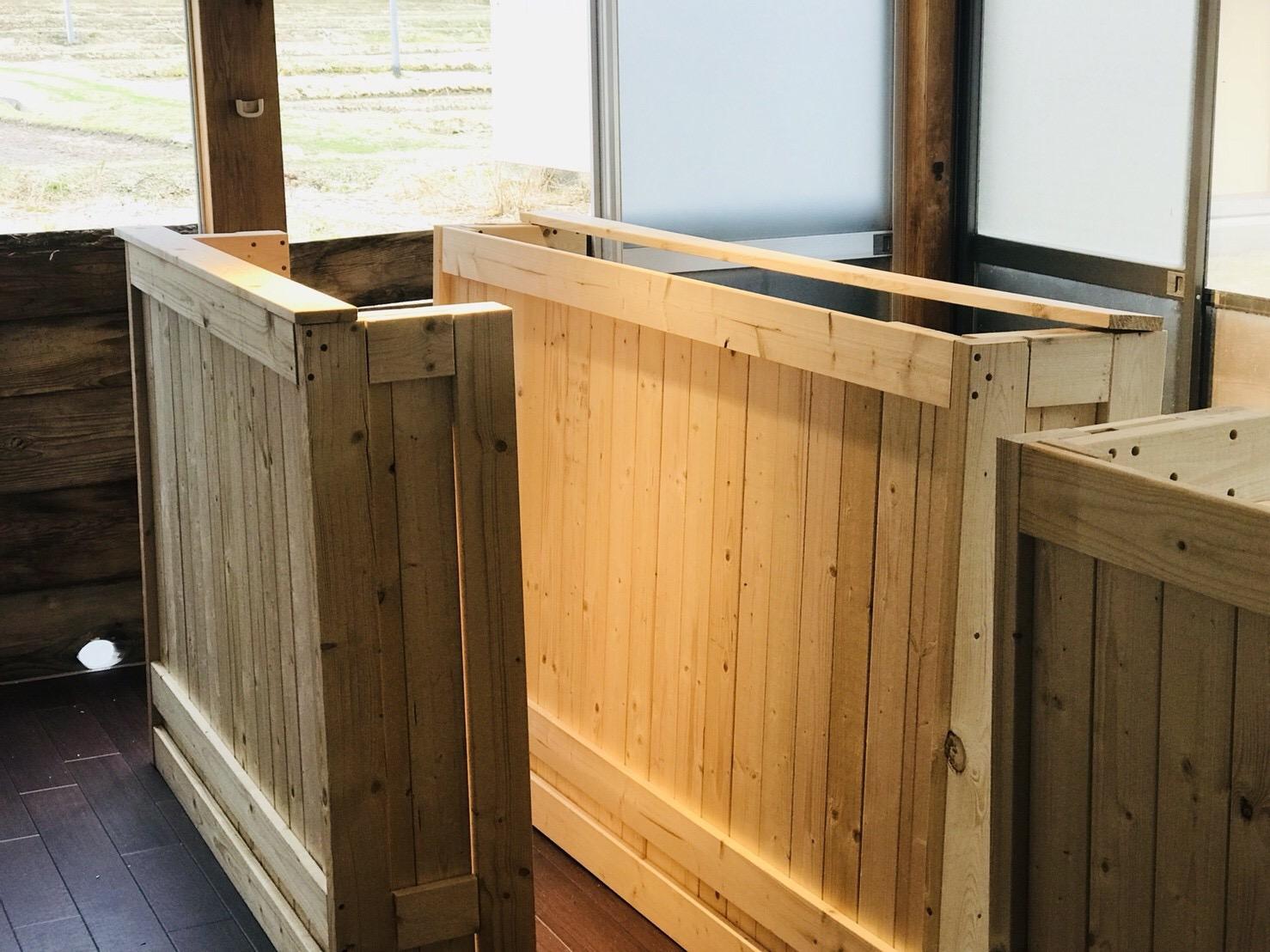 キッチンスペース改装の手順③【DIYでカウンターを造作・設置。】
