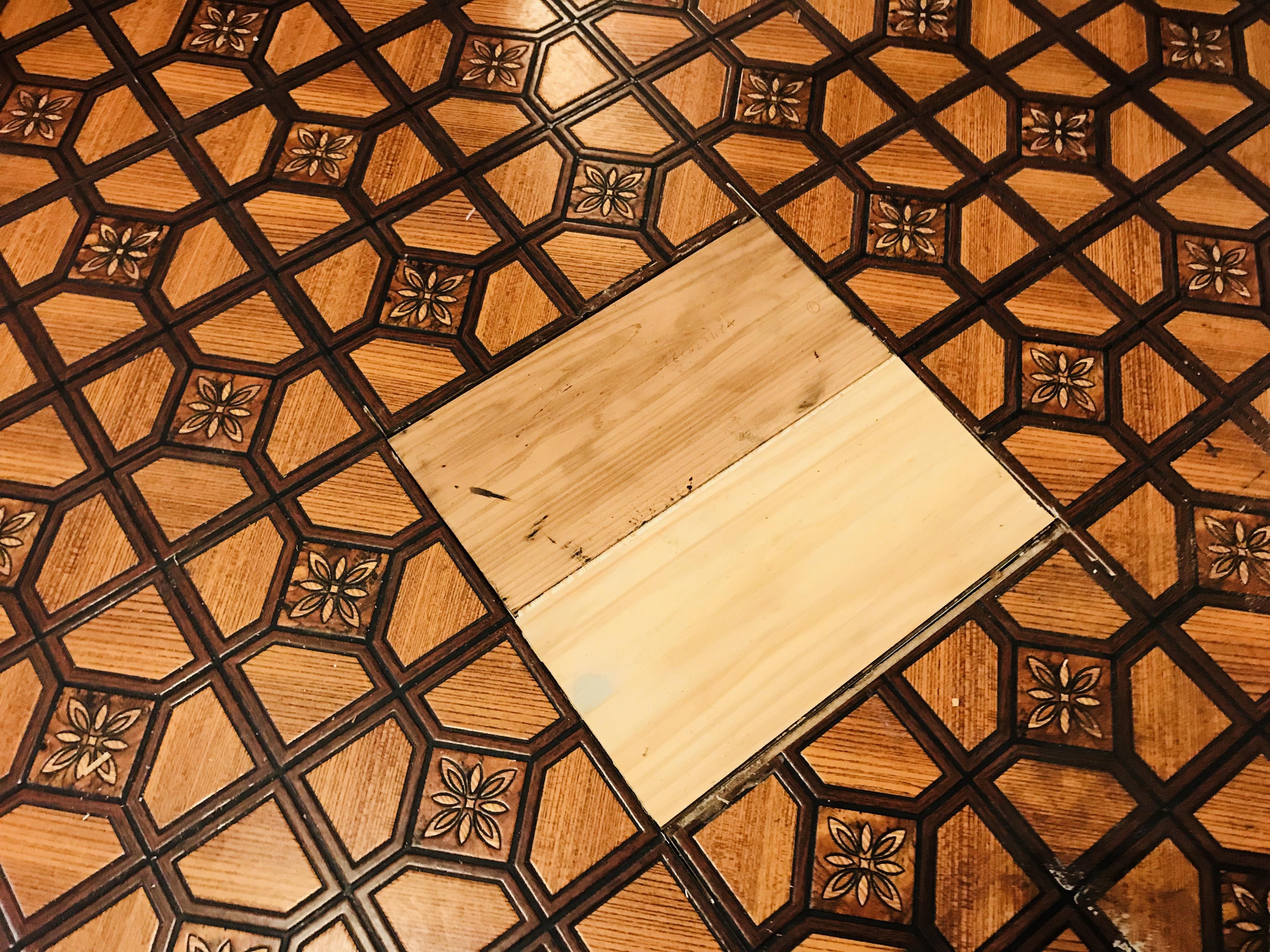 古民家の床の補強