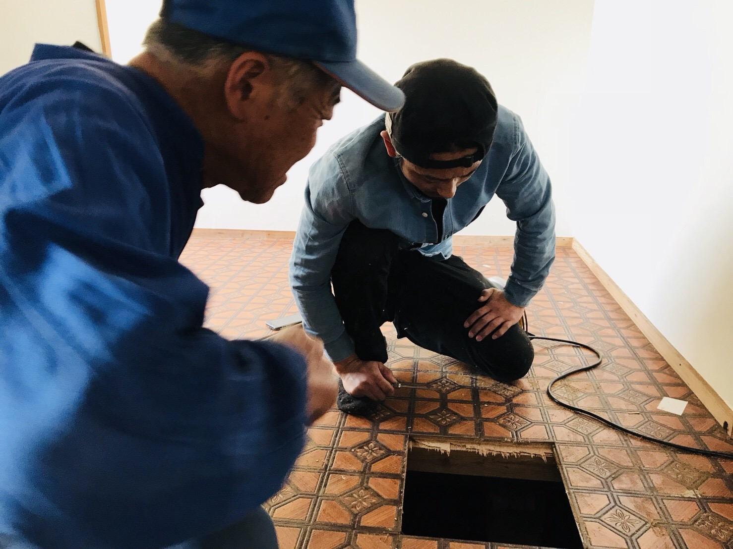 床板の交換の方法