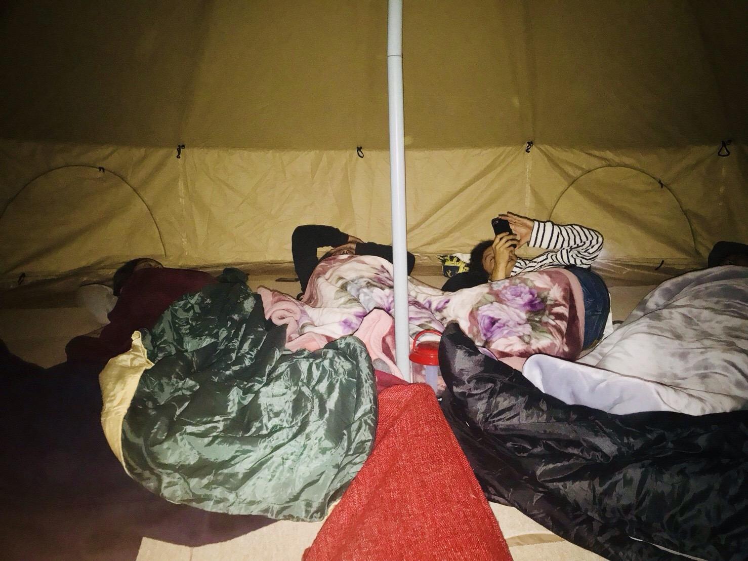 モンゴルテントに宿泊