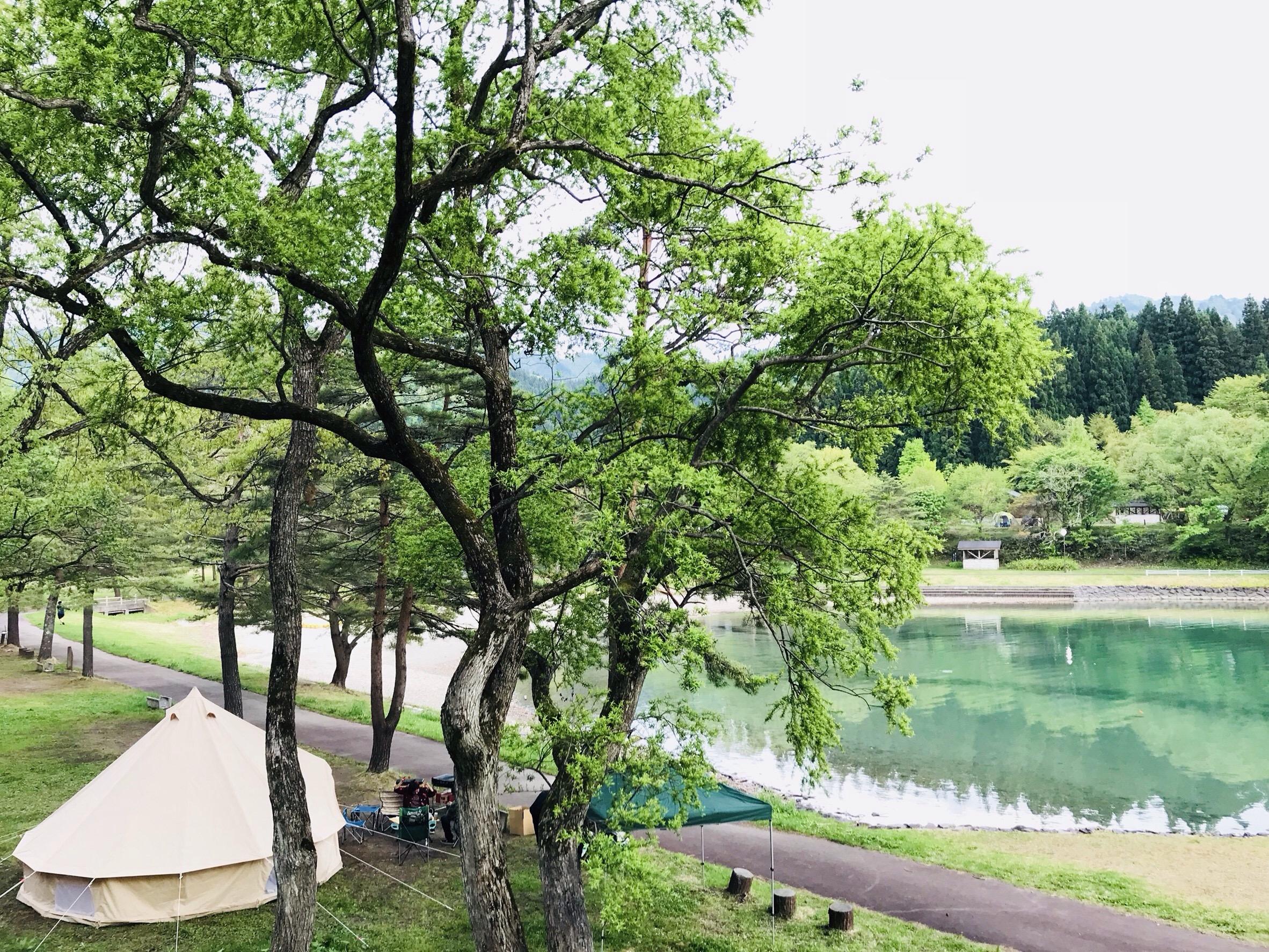 沼沢湖の風景