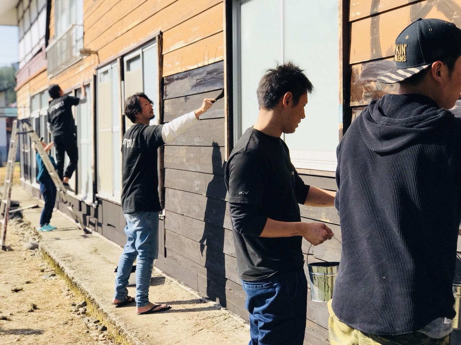 外壁塗装をDIYで