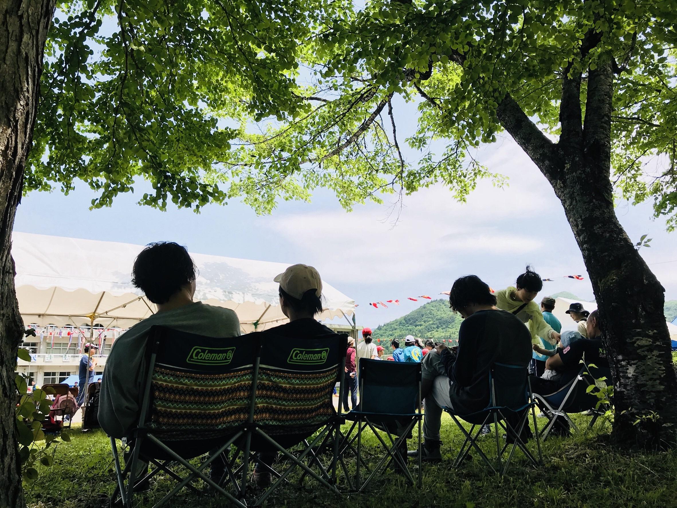 昭和村村民運動会