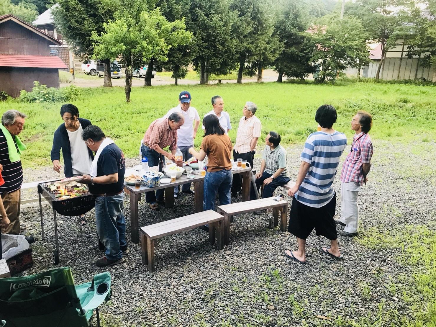 SHARE BASE 昭和村でBBQ