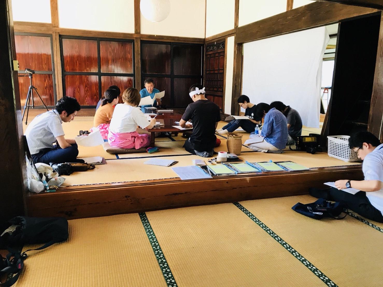 菅家博昭さんによるSHARE BASE 昭和村でのミニ講座