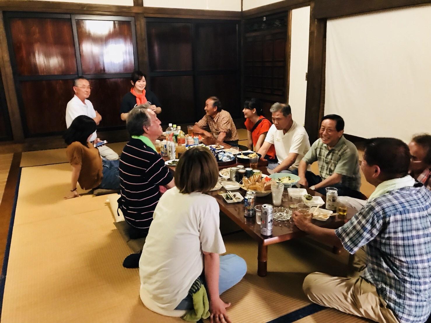 SHARE BASE 昭和村で村民と交流