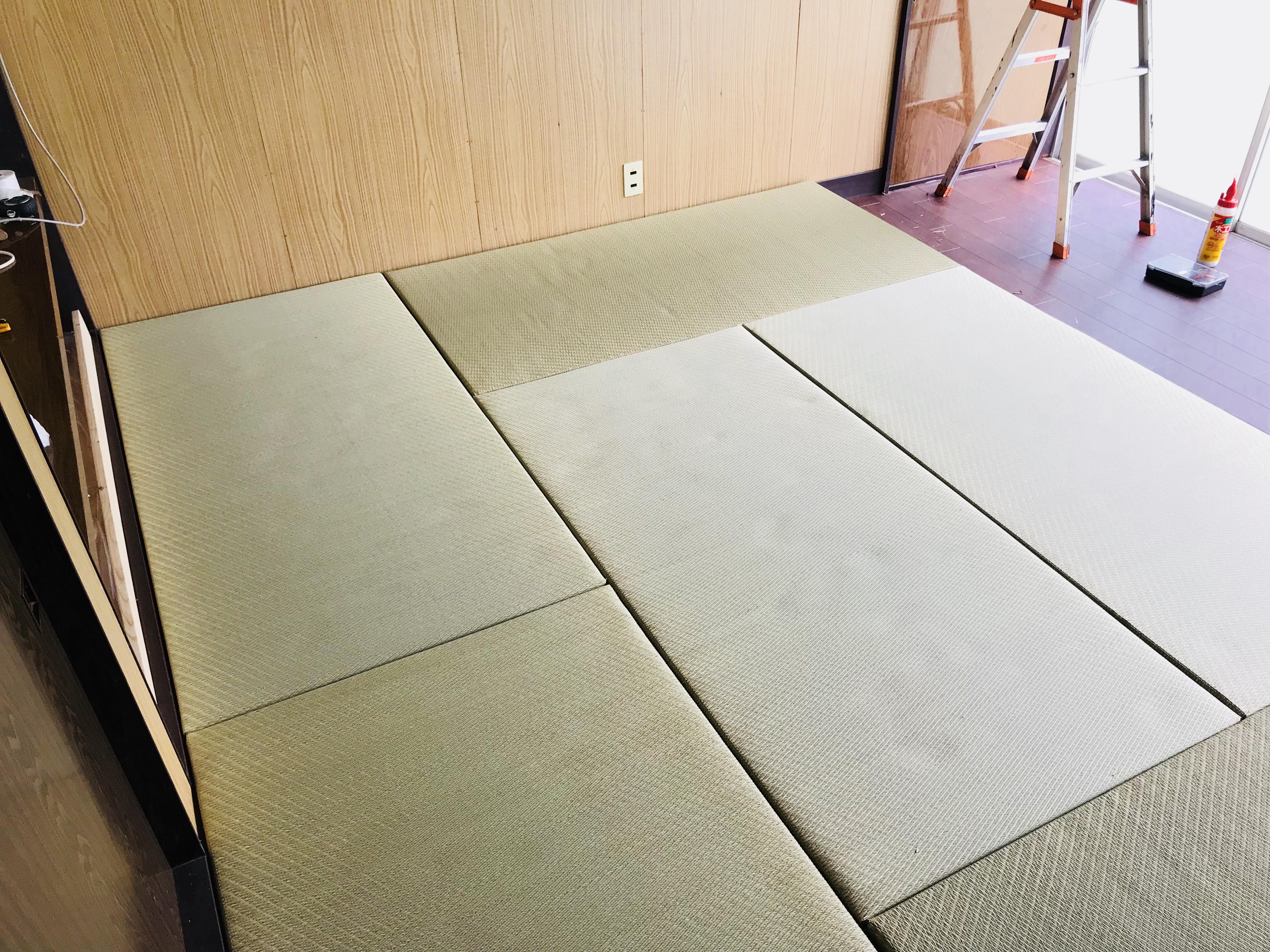 ユニット畳のメリット