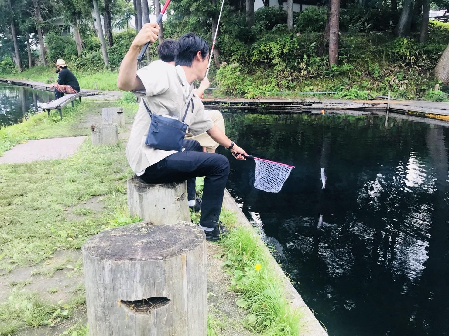 福島県の釣り堀