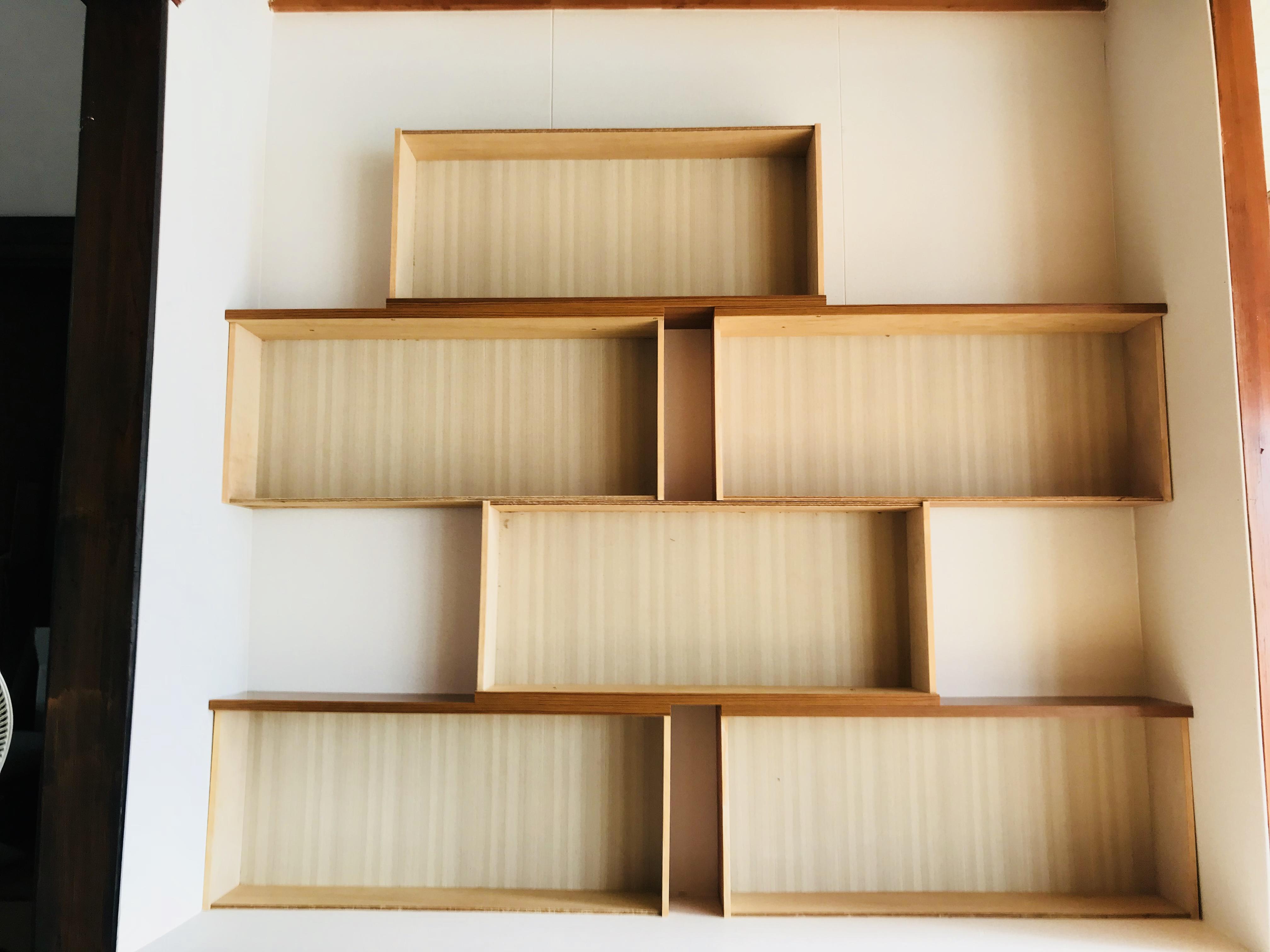タンスを使って本棚をDIY
