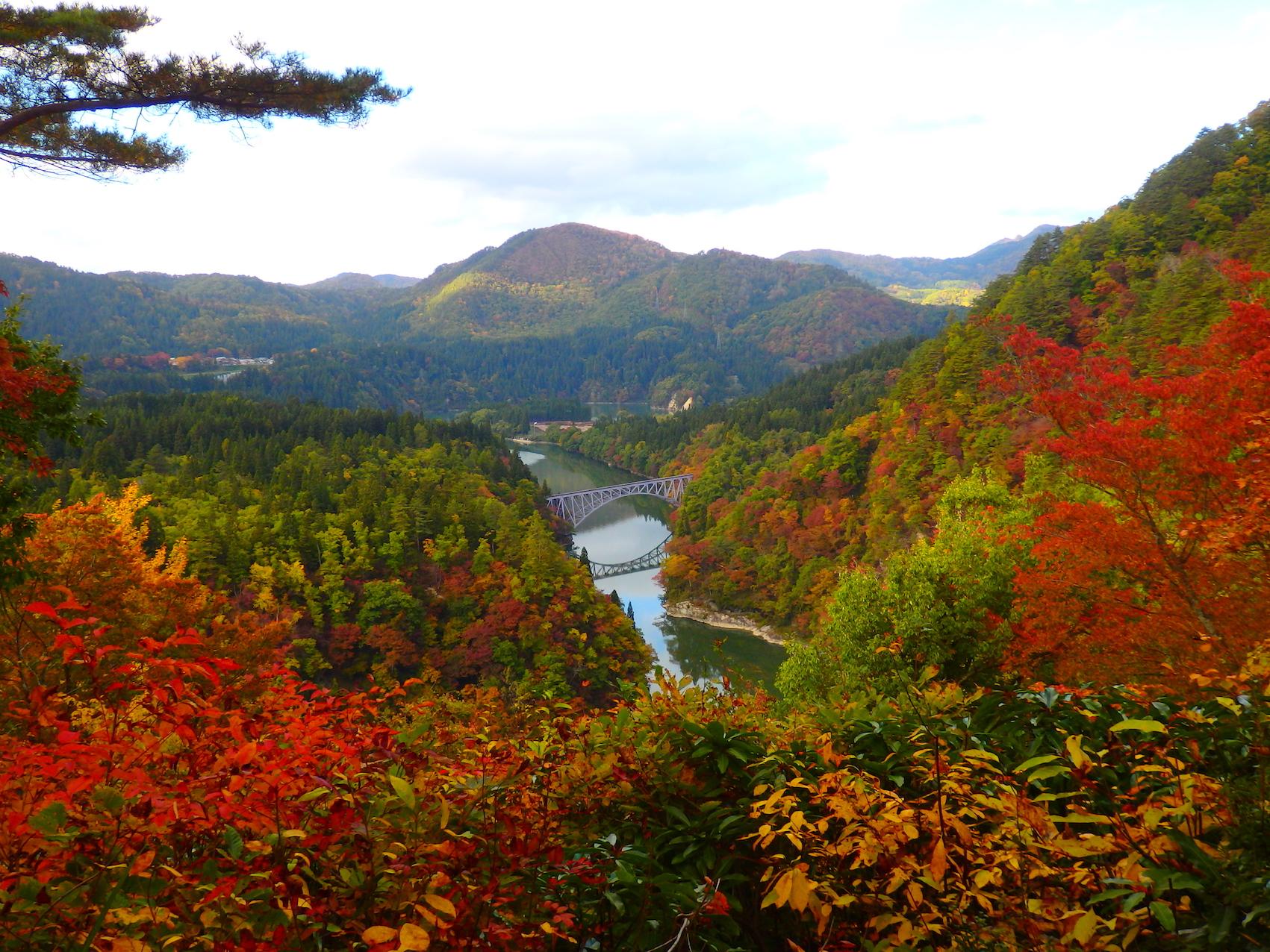 福島県の紅葉スポット