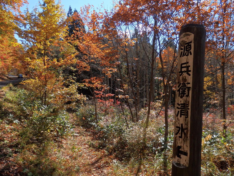 奥会津 昭和村の紅葉
