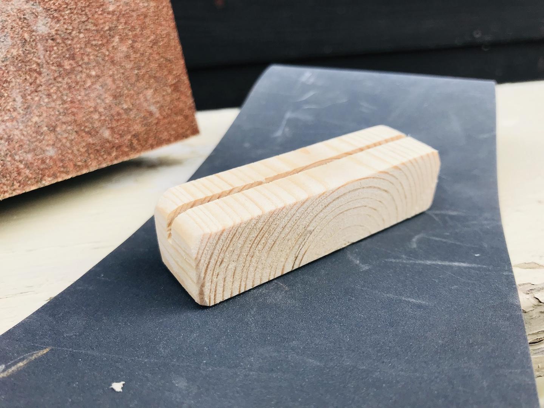 木工DIY 表面の仕上げ方