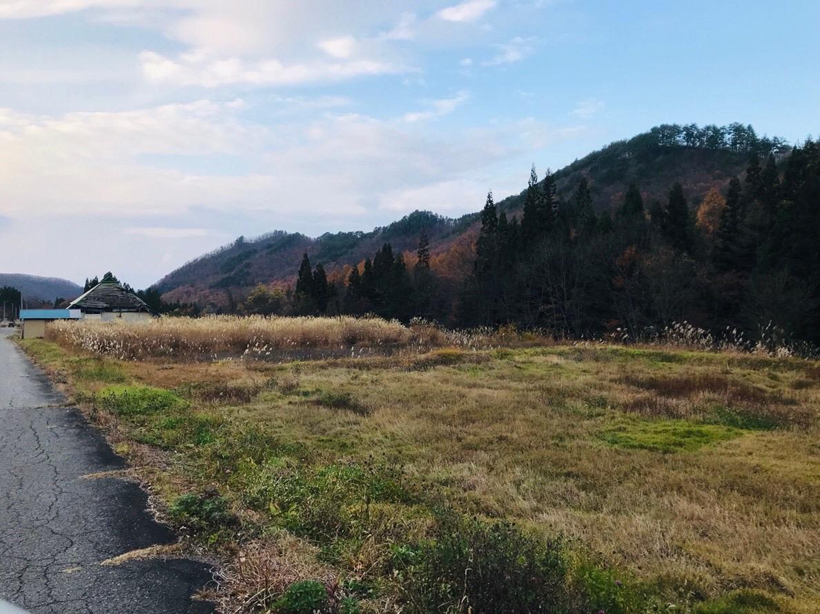 福島県昭和村 雪 廃集落 空き家 耕作放棄地