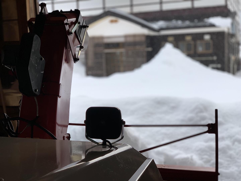 除雪機を使うコツ