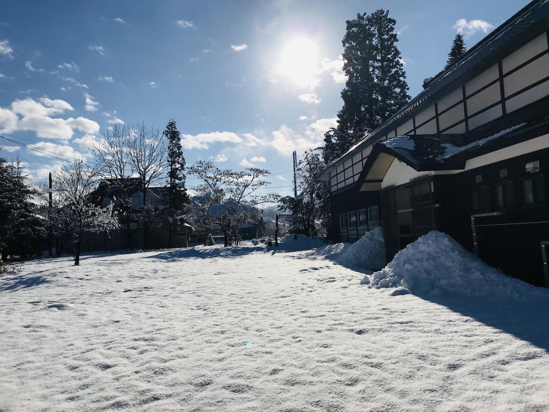 昭和村の冬