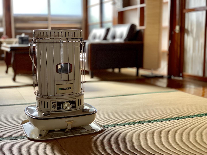 古民家で使う暖房器具