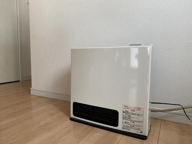 ガスを燃料とする暖房