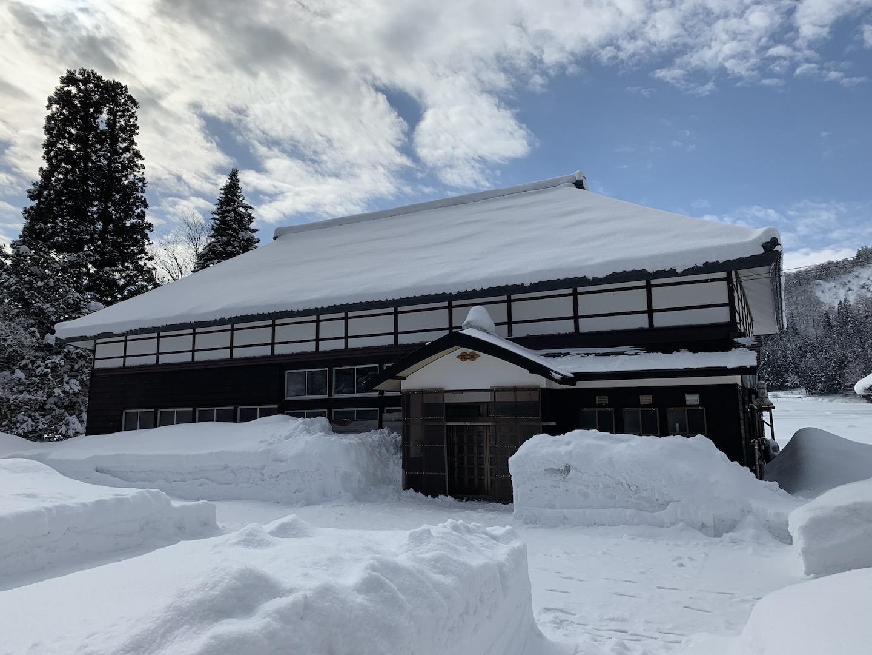 冬の古民家