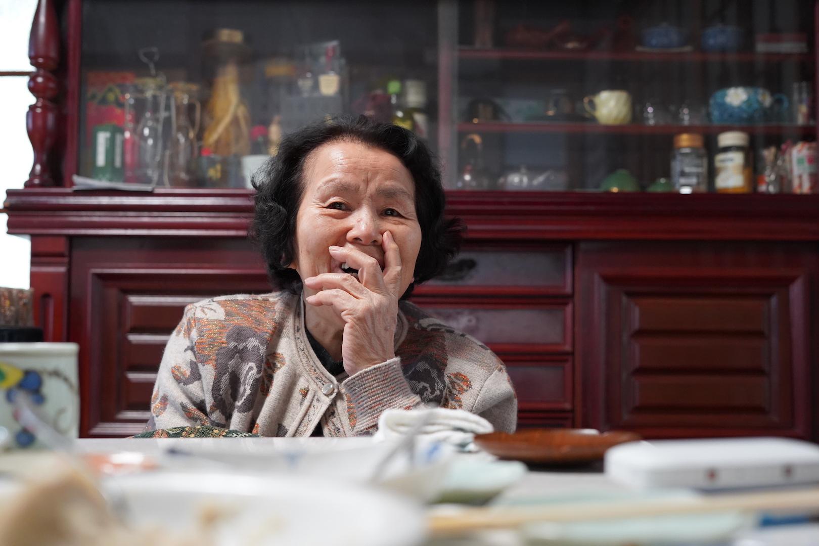 昭和村のおばあちゃん