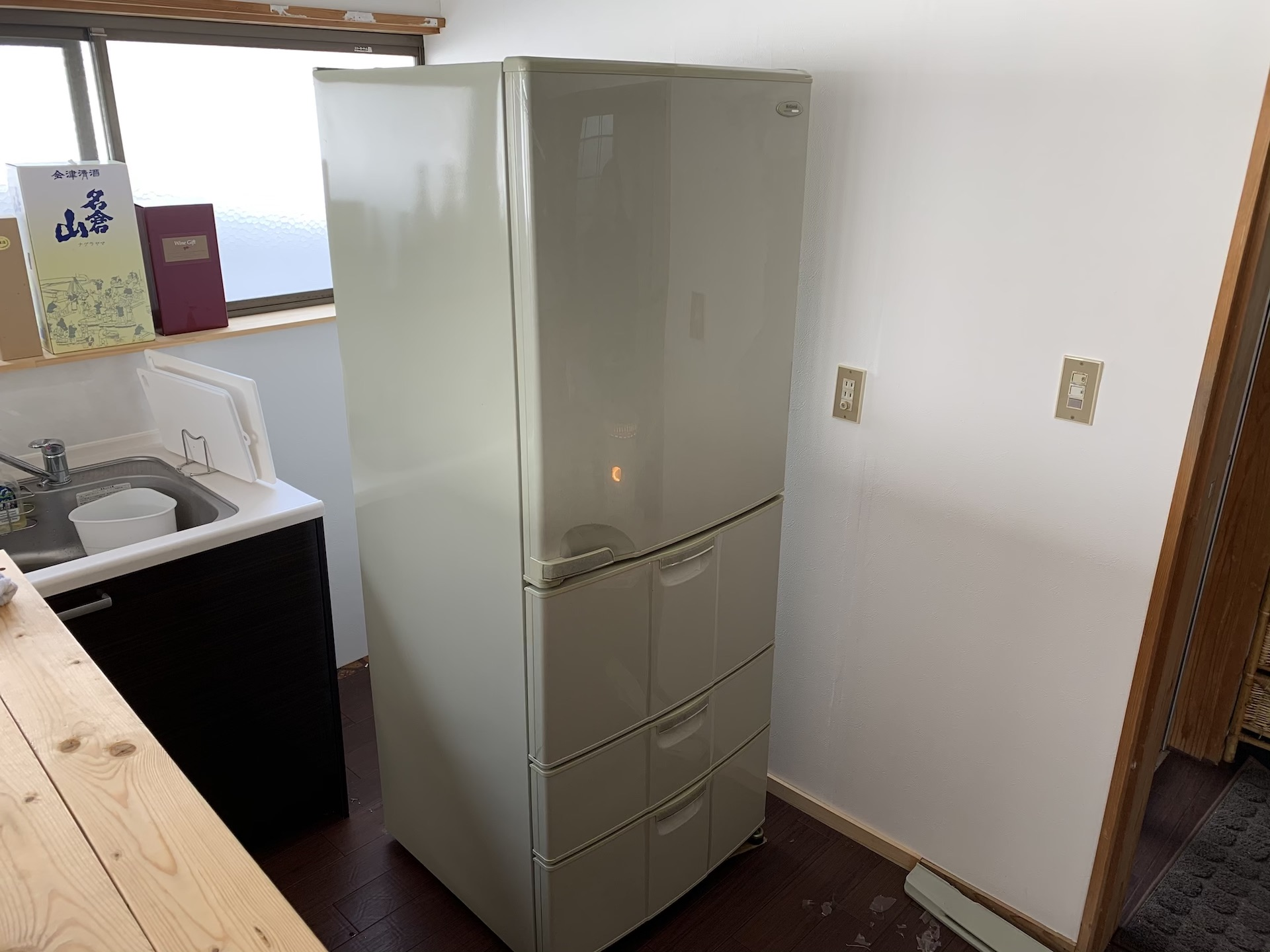冷蔵庫リメイク完成