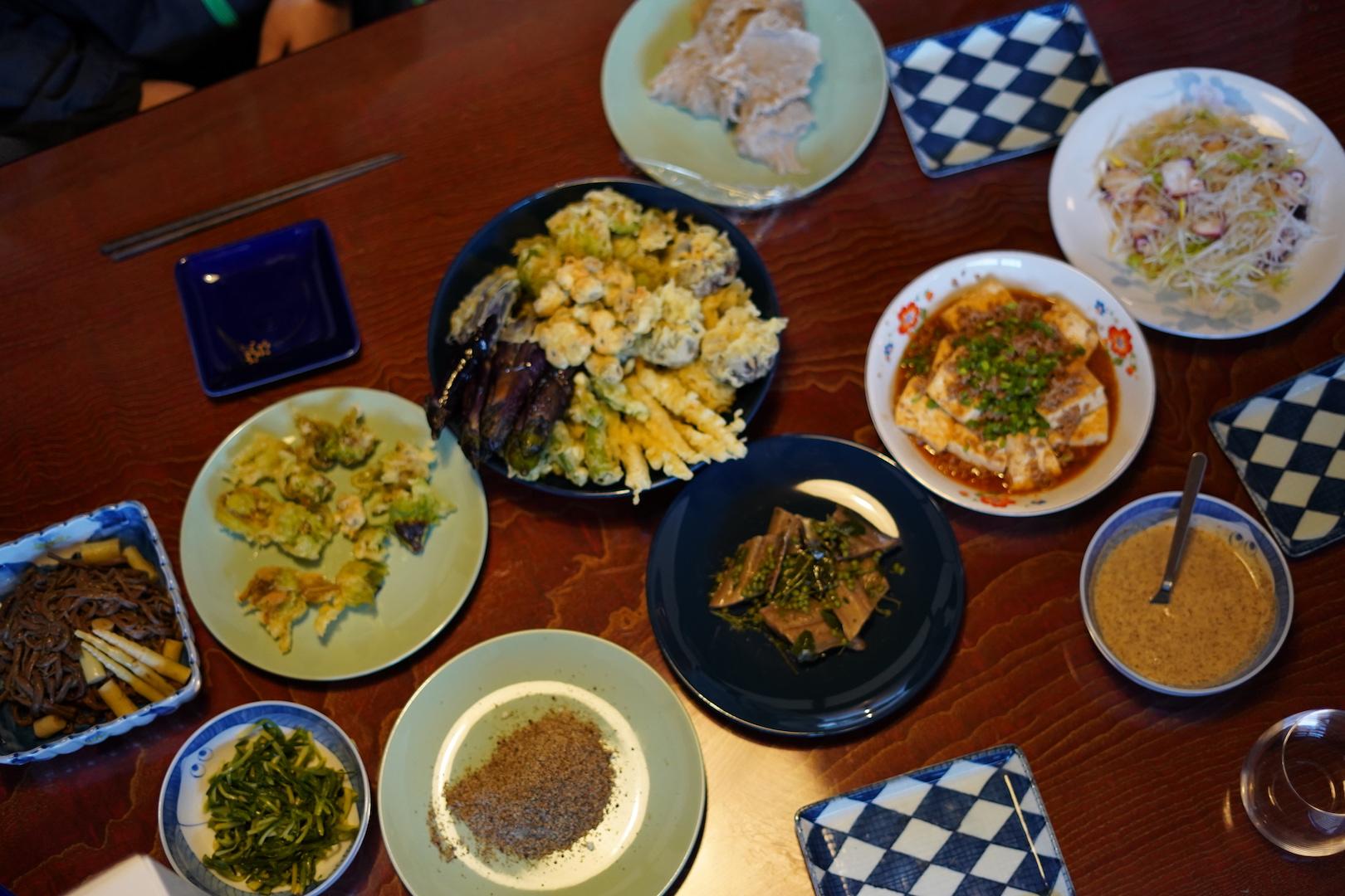 郷土料理の体験プラン