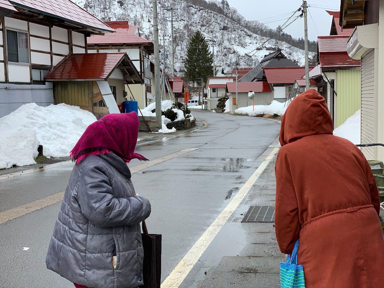 福島県昭和村の移動スーパー