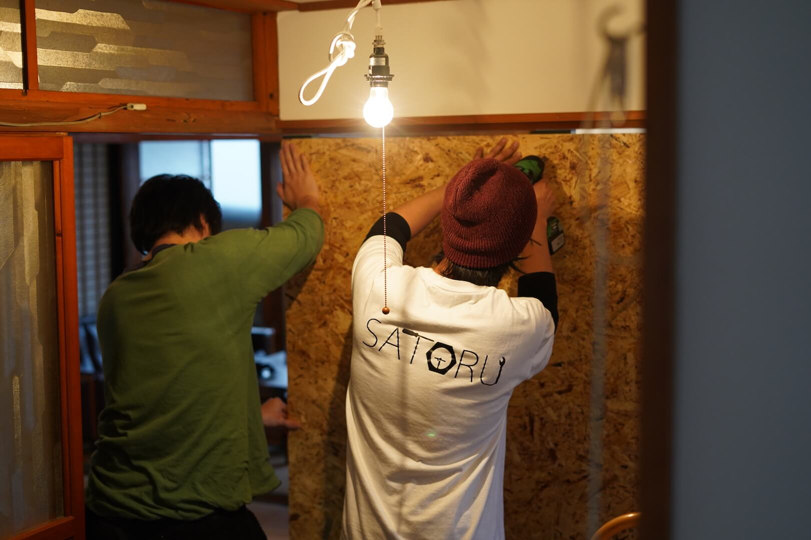 DIYで壁を作る方法