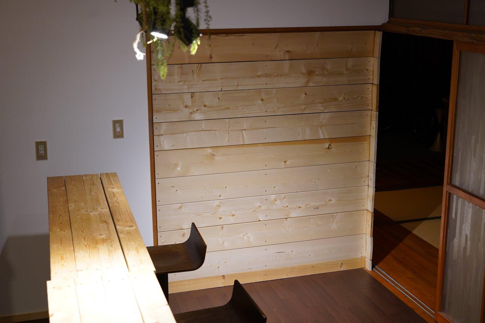 DIYで間仕切り壁を作る方法。