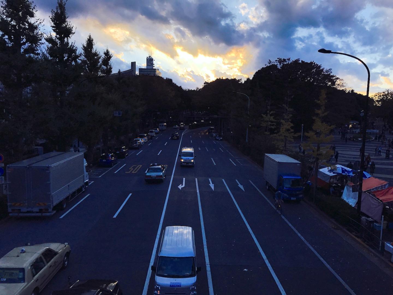 渋谷区の交差点