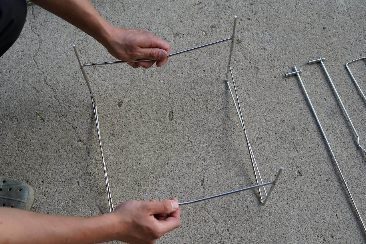 ピコグリルの組み立て方