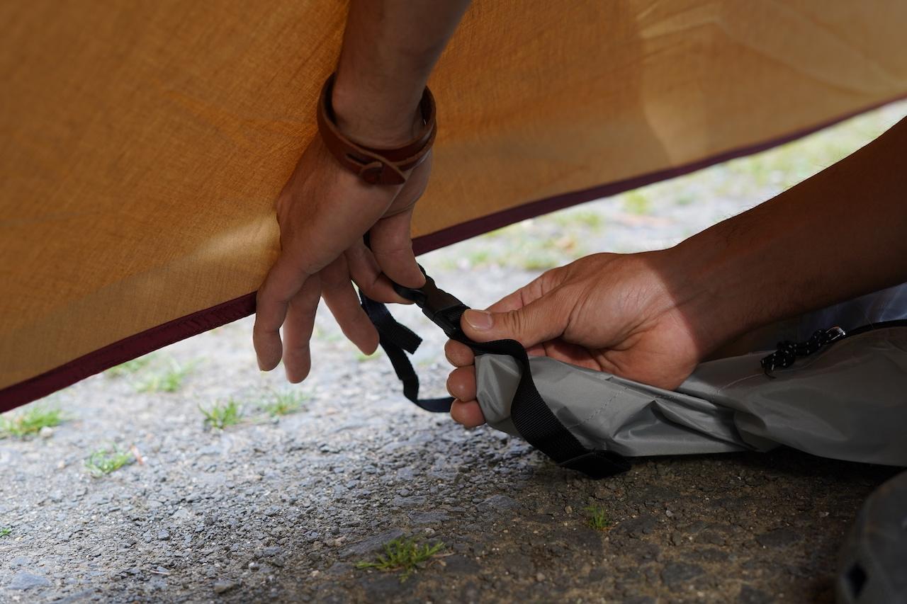 ワイルドワンのテント