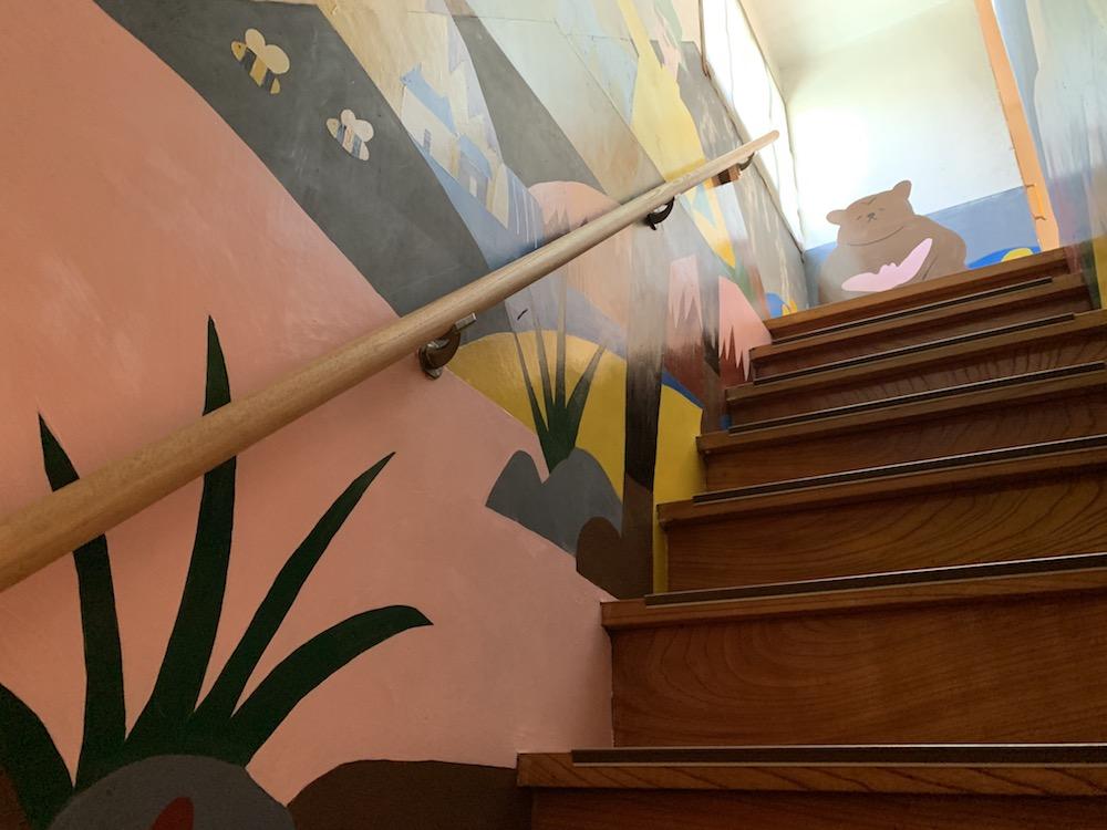 ゲストハウスひとときの階段