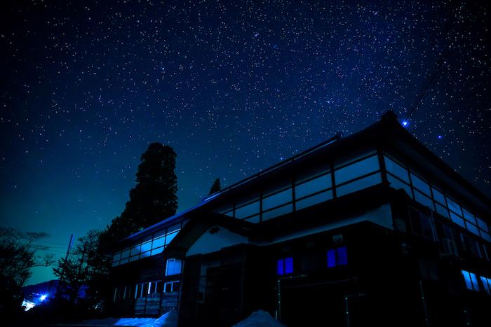 昭和村の星空