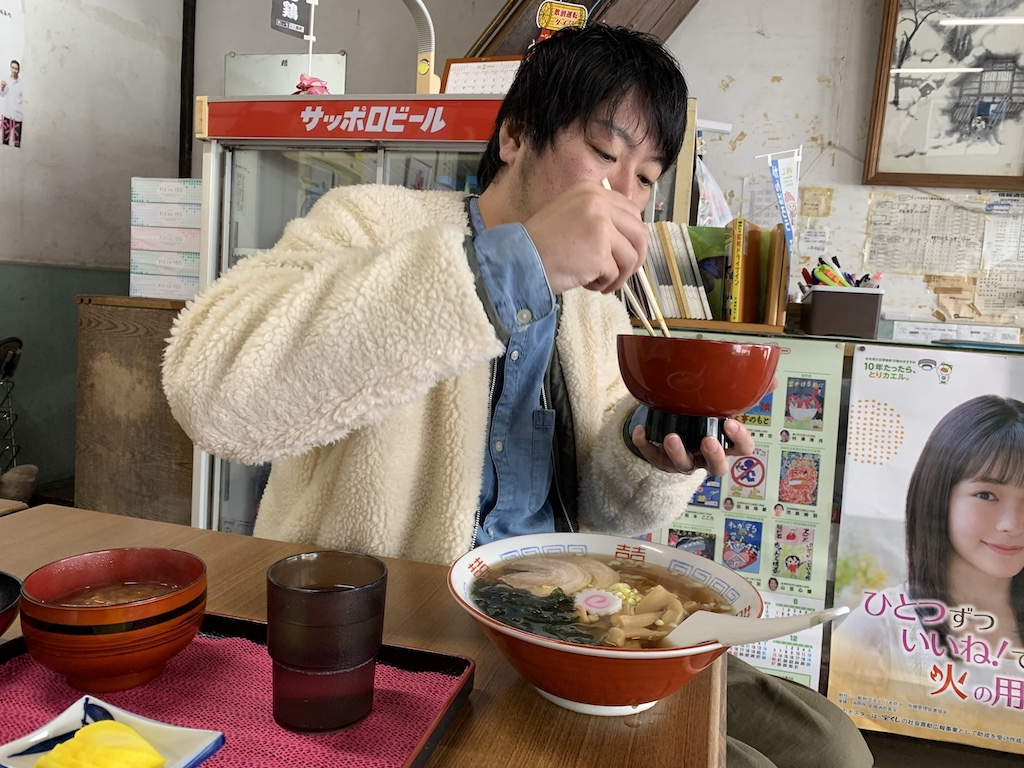 福島の定食屋