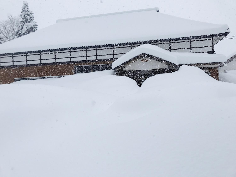 雪がたくさん降る地域に住む