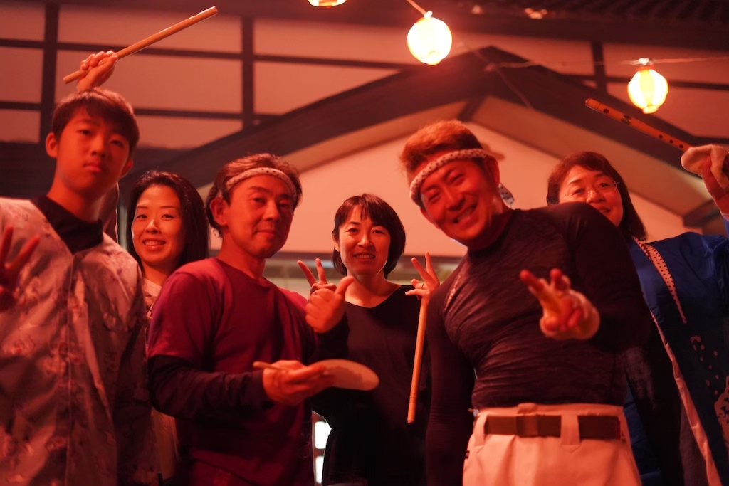 昭和村の太鼓