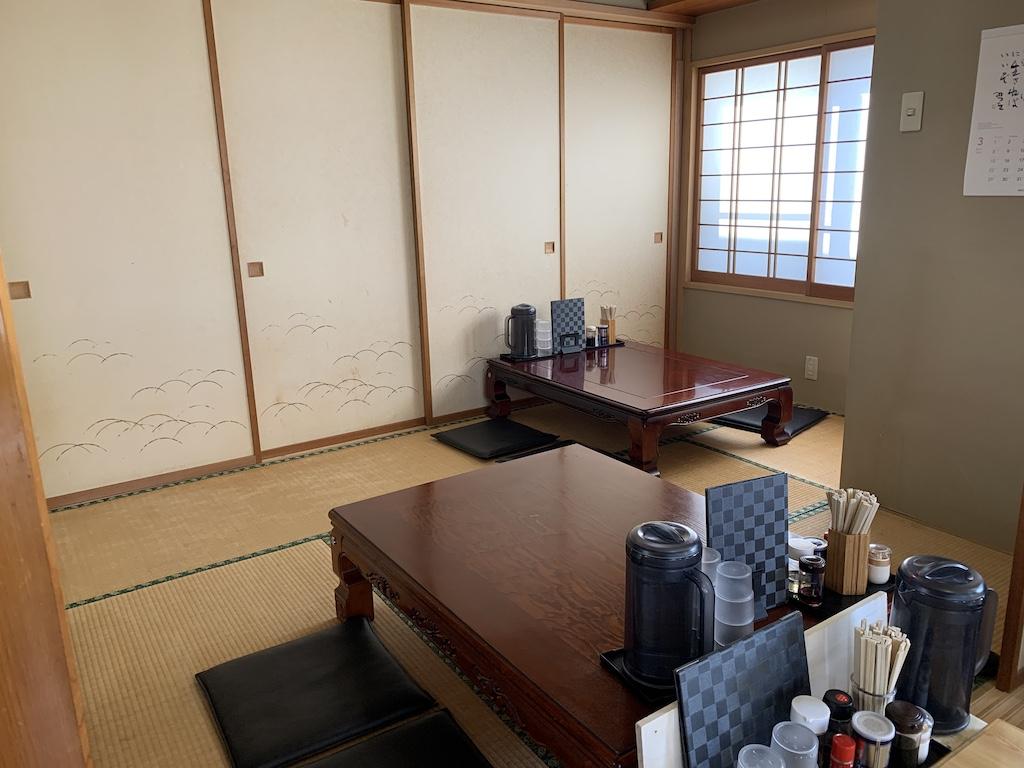 会津の食堂